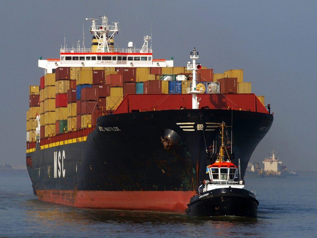 transporte internacional- Transporte marítimo
