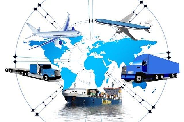 transporte de mercadorias