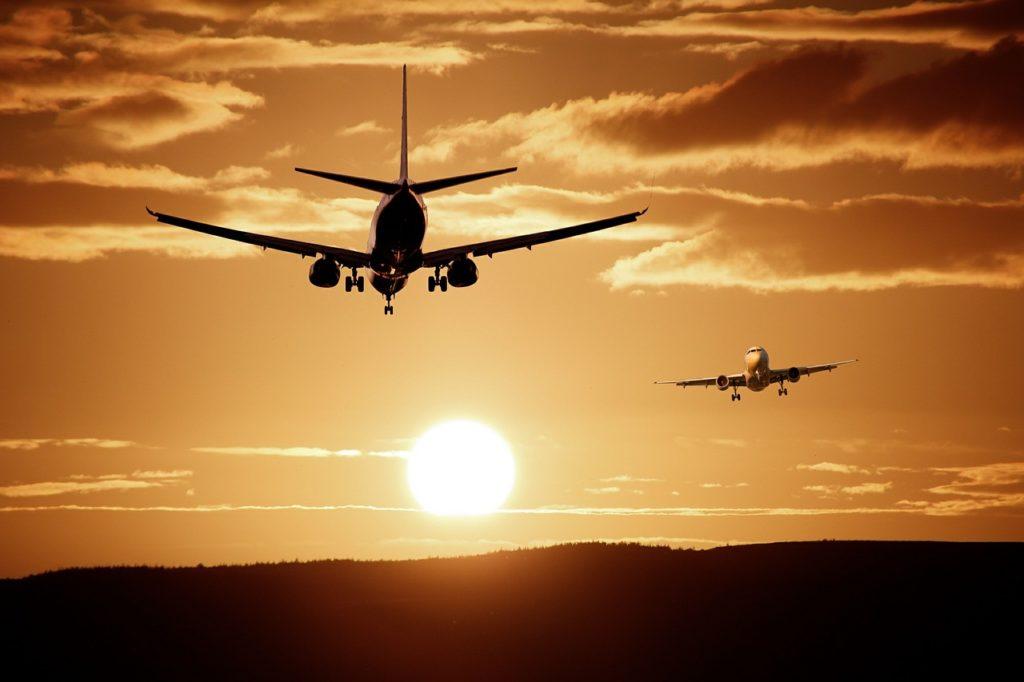 Transporte internacional aéreo