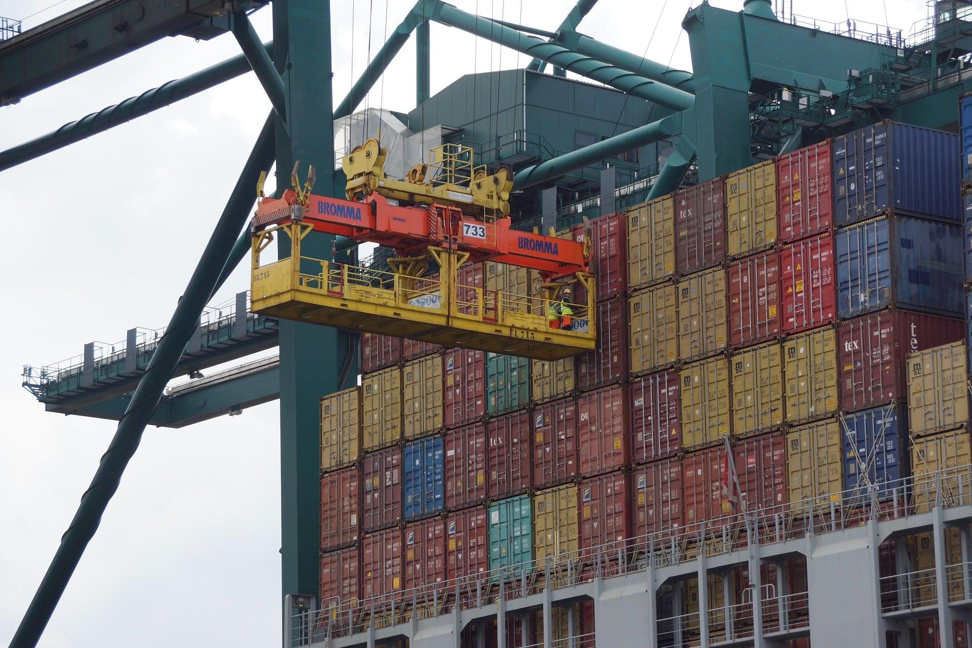 contenedores buque