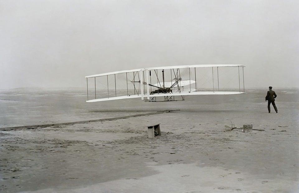 historia del transporte aéreo