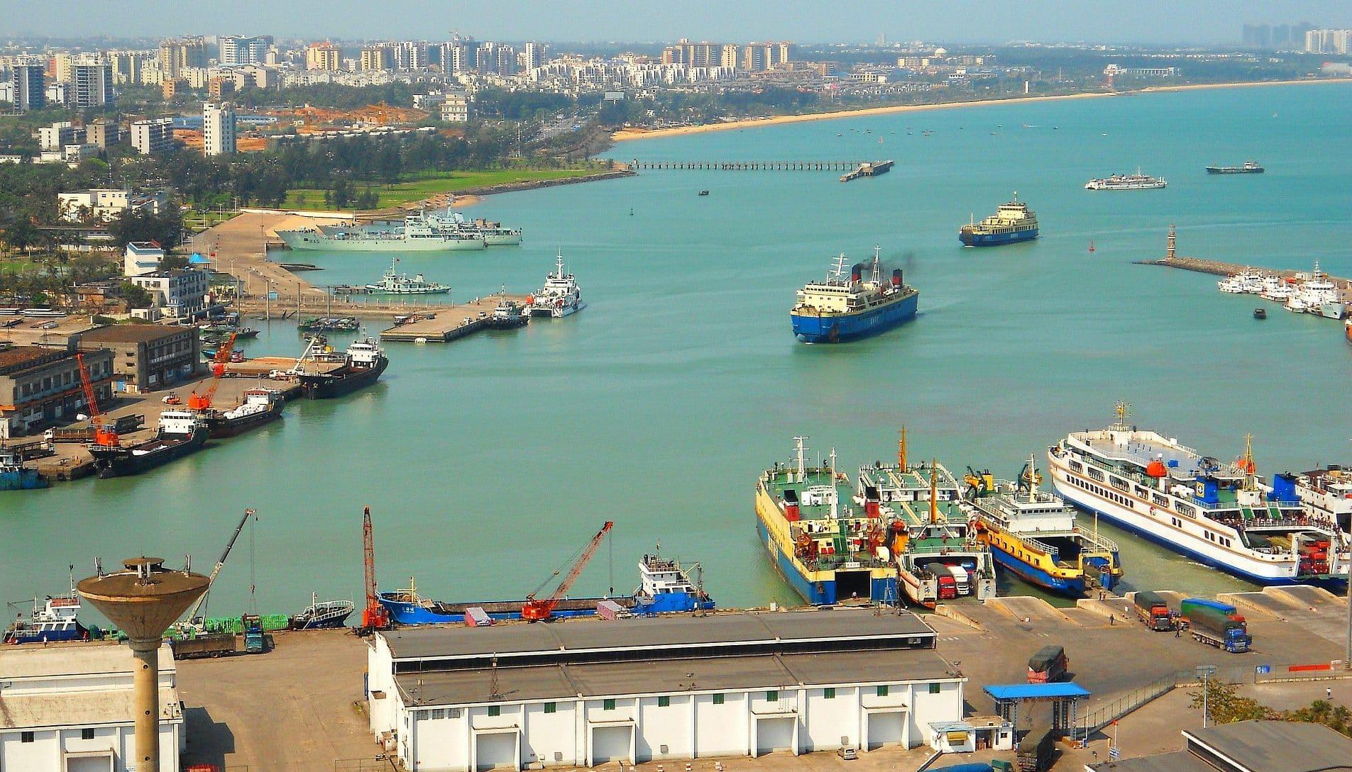 Transporte de mercancías con China